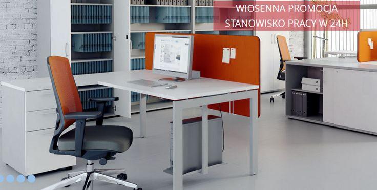 Potrzebujesz szybko miejsca pracy dla nowego pracownika?  Ta oferta jest dla Ciebie!  Stanowisko pracy w 24H!  #meble #meblebiurowe #biurko #krzesło #ekspresowo #naszaoferta #wiosennapromocja