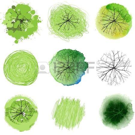 9 arbres dessinés à la main pour vos aménagements paysagers