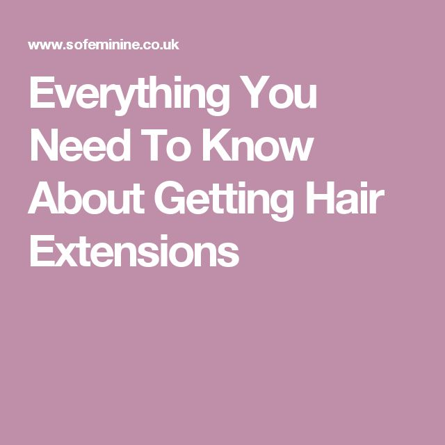 What You Need To Know About Glass Extensions: 17 Best Ideas About Extensions Hair On Pinterest