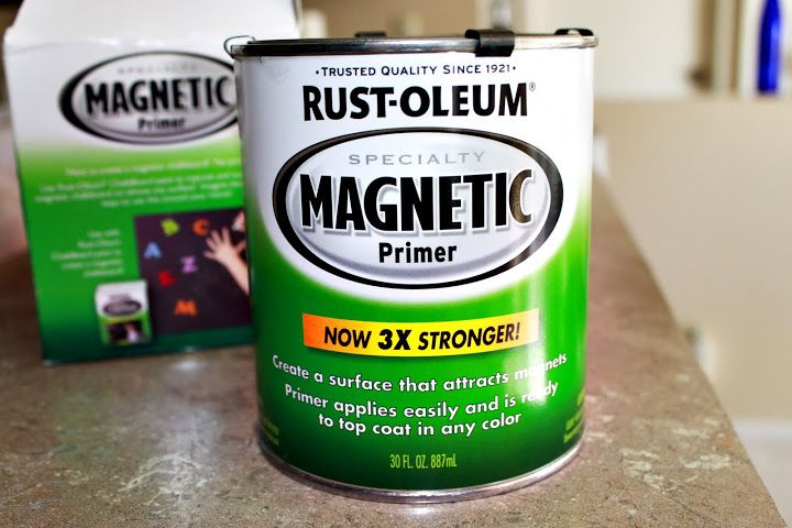 Rustoleum Magnetic Paint Primer Crafty Pinterest