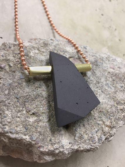 Alps -necklace by Laura Itkonen