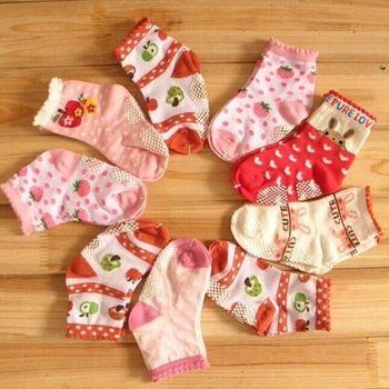 Прекрасный девочка дети детская балетная мэри джейн красочные носки анти-слип 0 ~ 3 лет
