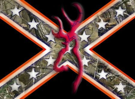 Confederate Flag Wallpaper for PC   rebel camo browning deer by ...
