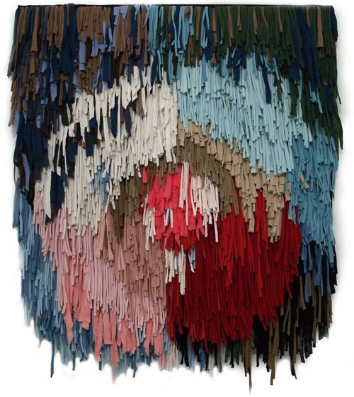 : Wall Art, Rag Rugs, Wall Hangings, Inspiration, Colors, Paper Projects, Weaving, Textile, Sol Calero