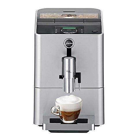 Brew a flawless cup of coffee every time with the #Jura Micro 90 Fully Automatic Coffee Machine. The Pulse Extraction Process allows full flavor and aroma to develop, producing perfectly-pulled espresso or pressure-brewed coffee at the touch of a button. The JURA is so incredible-my best friends own one and I look forward to it every time I visit!