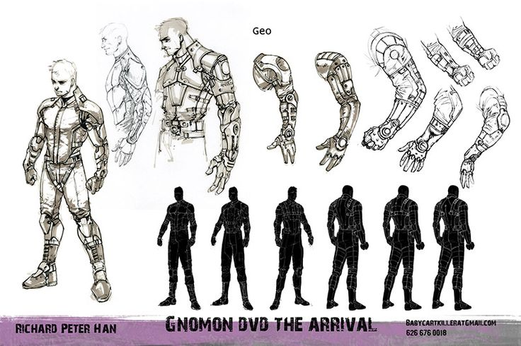 Designing A Character Extraordinary Of The Gnomon Workshop ...