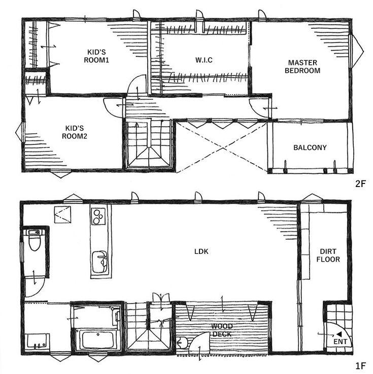 元気なお子様二人とアパレル関係にお勤めのT様ご夫婦。様々なハウスメーカーを見て回られているなかで、デザインにこだわったゼロキューブに出会ったことがきっかけでオレンジハウスに訪問されました。もともとご両親がお持ちの土地への建築をご検討だったため、土地に合わせてコートハウス(中庭のある家)のプランをご提案。