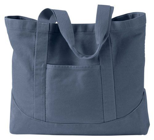 New Trending Tote Bags: Authentic Pigment 14 oz. Pigment-Dyed Large Canvas Tote, Denim, One Size. Authentic Pigment 14 oz. Pigment-Dyed Large Canvas Tote, Denim, One Size  Special Offer: $11.50  311 Reviews 100% cotton canvas; heavy enzyme-washed; nylon webbing handles; large, open main compartment with snap closure; inside hanging zippered pocket; front pocket;100% cotton...