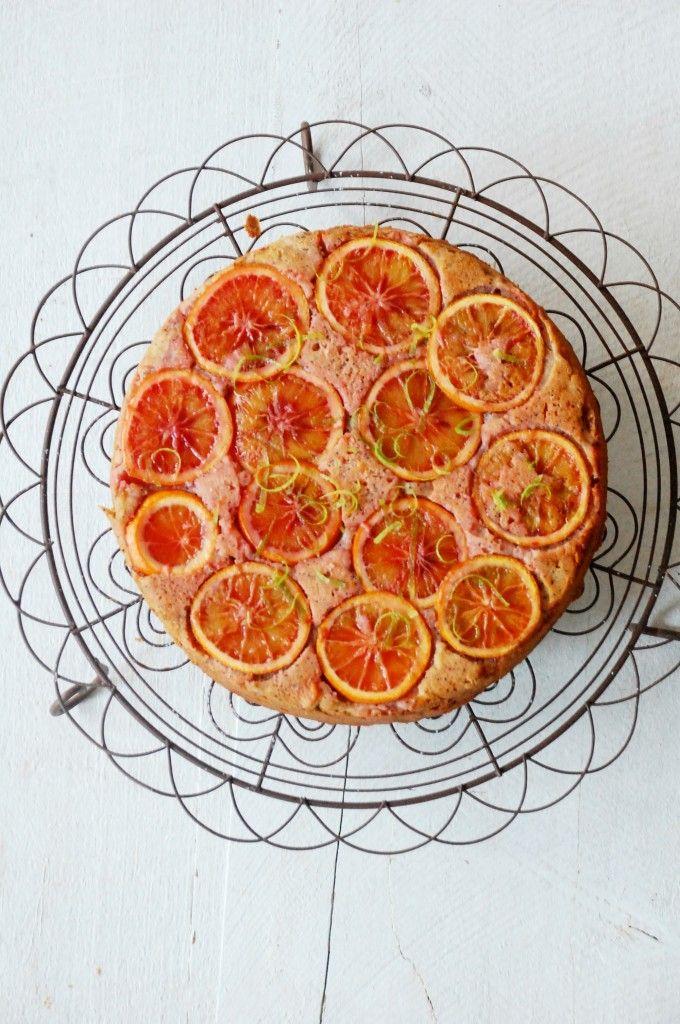 Cake de naranja sanguina y semillas de amapola | Singulares | Blog