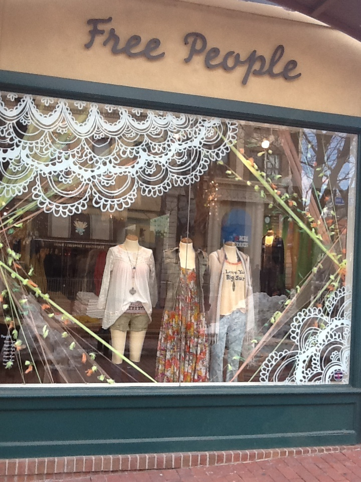 Free people never ceases to wow us with their cute and for Window transfers