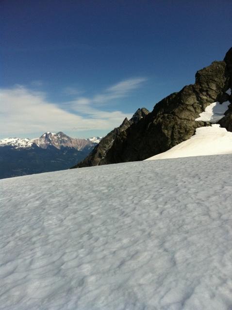 Serratus Glacier....perfect panoramic view
