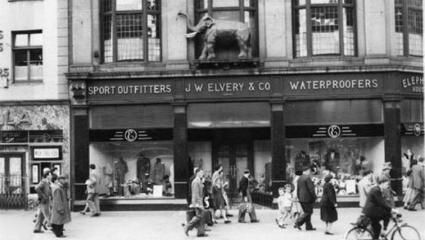 Elvery 39 s o 39 connell street 1950s dublin old times for Classic house green street dublin 7