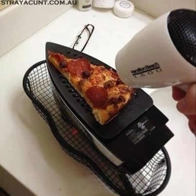 Straya Bloke Pizza Cooking #straya #bloke #aussie #strayacunt