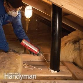 DIY - How to prepare and insulate your attic with blow insulation.