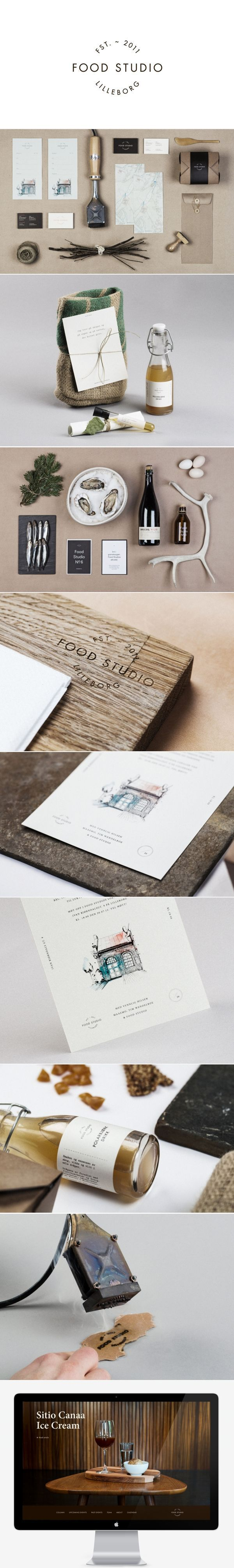 Unique Branding Design, Food Studio #Branding #Design (http://www.pinterest.com/aldenchong/)