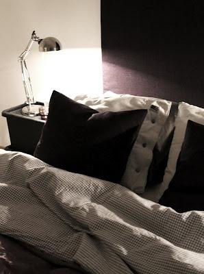 Cosy bedroom -Gyllinsträdgård in Malmö.