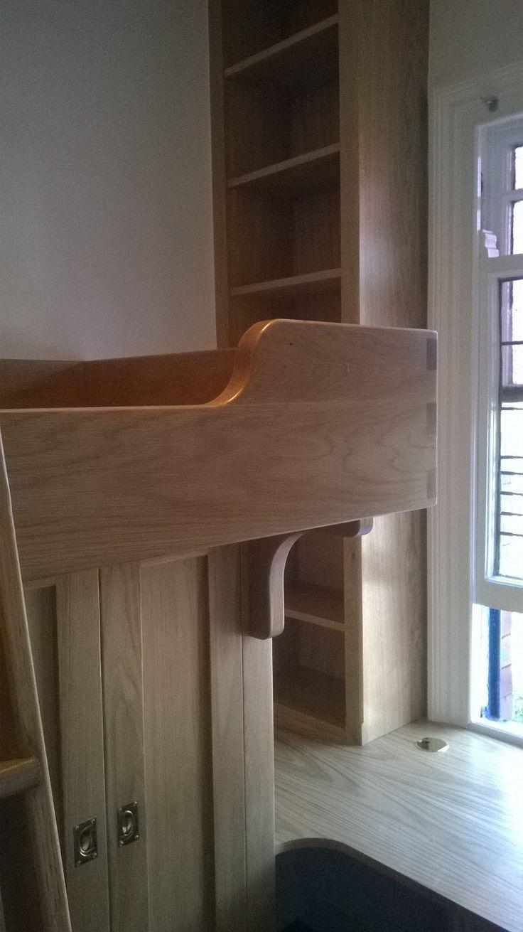 Cabinet maker bespoke pine furniture oak furniture bespoke - Children S Bed Study Area Handmade Bespoke Furniture By Cabinet Maker Gill Martinez Www