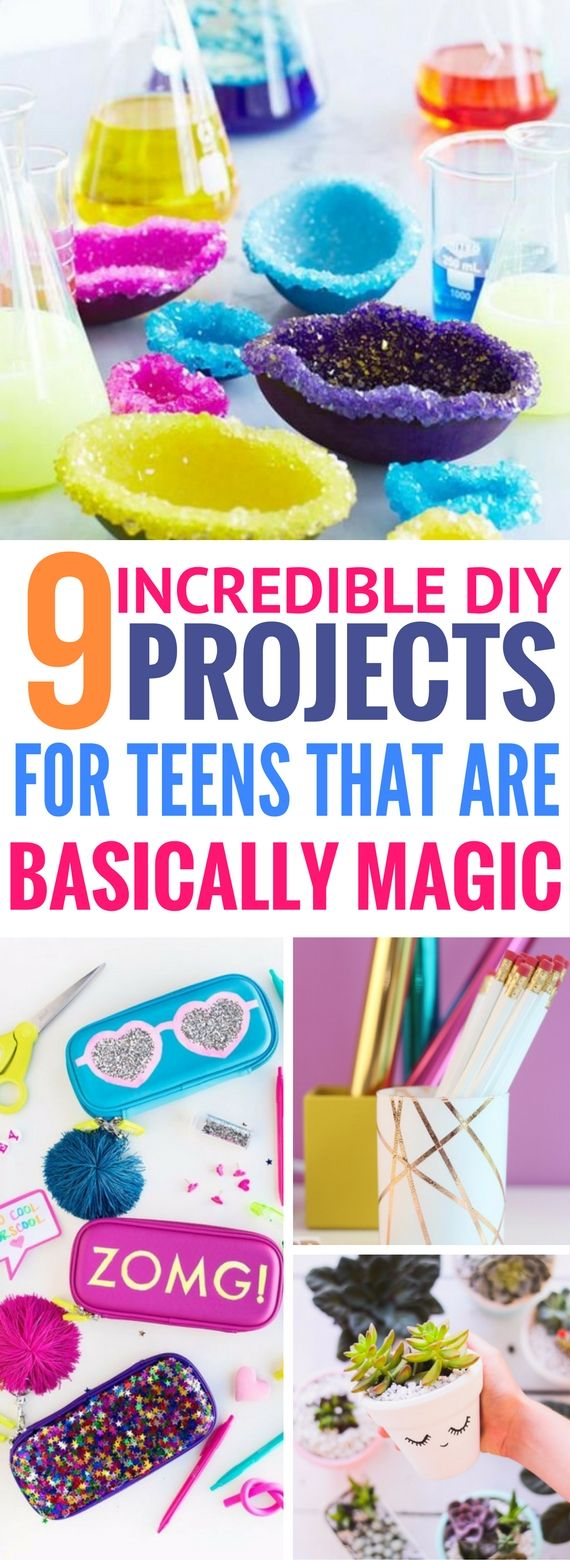 I so LOVE these gorgeous crafts for teens to make. Great diy projects for room decor and they are so pretty!