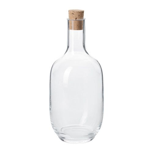 SINNERLIG Flasche IKEA Mundgeblasen, jedes Exemplar wurde von einem talentierten Kunsthandwerker gefertigt.