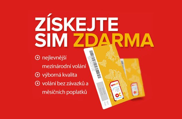 OpenCall Mobile sim karta zdarma: http://www.vzorkyzdarma.eu/opencall-mobile-sim-karta-zdarma-2/