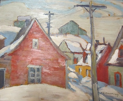 Another one by Sir Frederick Banting, creator of insulin and respected amateur painter who painted with Group of 7