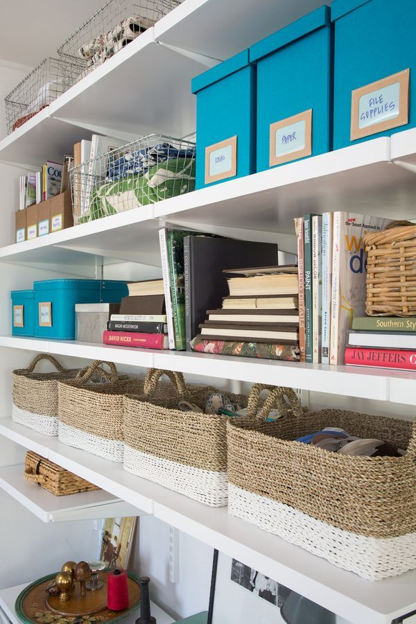 104 best elfa Office images on Pinterest Container store Craft