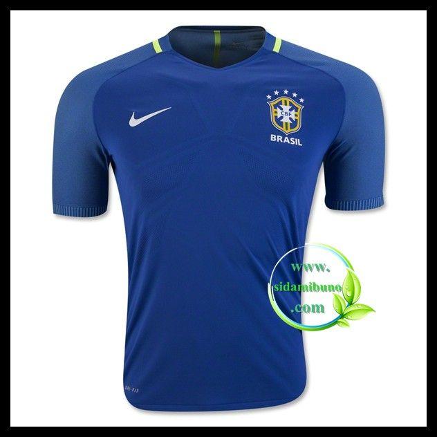 Billige Fotballdrakter Brasil Bortedraktsett UEFA Euro 2016