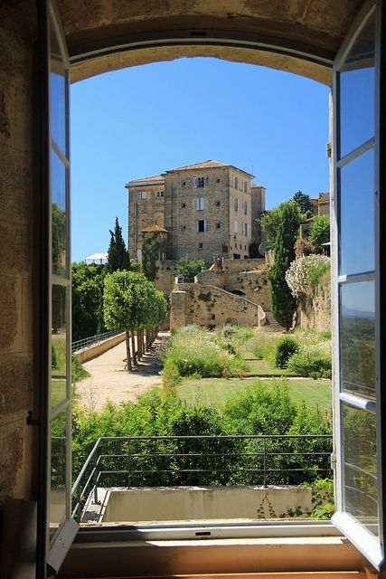 How would you like this view from your window... Château de Lauris (XVIIIème) - Lubéron - Provence