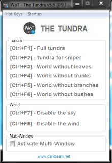 World Of Tanks mods : 9.20.1.1 DarkTeam Tundra V.6.0 By Android best Tun...