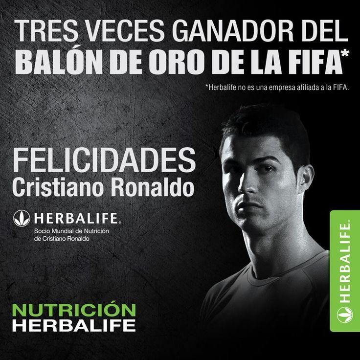 Patrocinado por los productos Herbalife