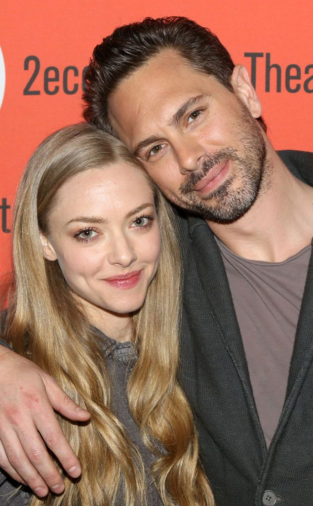 The Way We Get By Meet & Greet from Party Pics: New York  Amanda Seyfried and Thomas Sadoski promote their new play at the Second Stage Theatre.