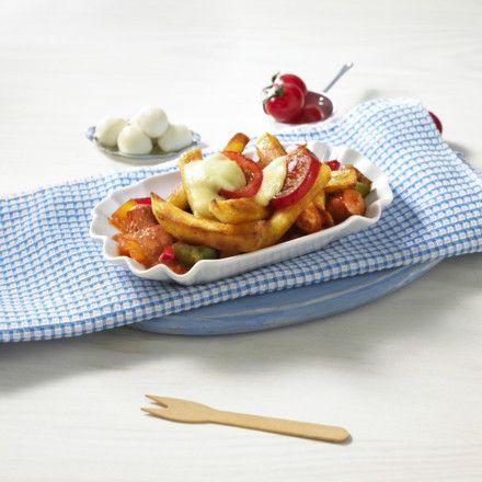 Pommes-Auflauf rot-weiß Rezept   LECKER