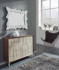 Mueble Taquillón de Madera : Modelo RAYAS