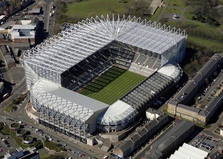 A brilliant away day (or weekend!)  You sit so high up it's incredible....probably the only match where i don't jump around when we score! It's a long way down!! St. James Park - Newcastle FC