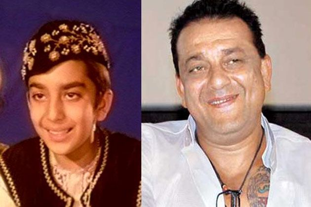 Bollywood's child actors: Then and now : Sanjay Dutt ...