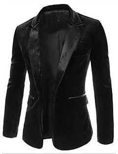 Hétköznapi Hosszú ujj - MEN - Suits & Blazers ( Pamut keverék )