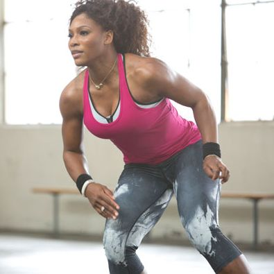 Get Abs Like Serena Williams With Her Nike Core Workout (ummm yes please!)