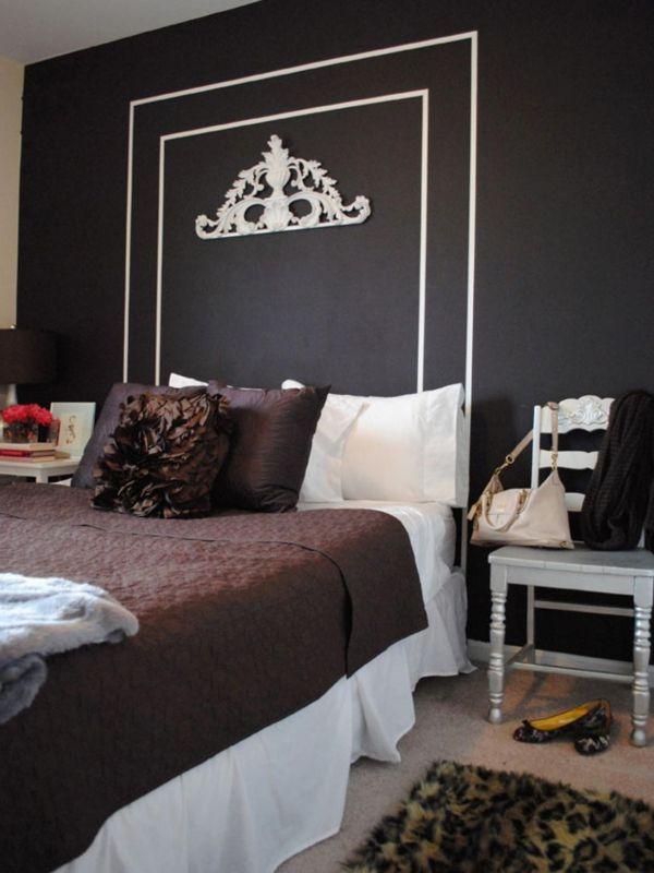 1000+ Ideen zu Schwarze Schlafzimmer auf Pinterest ...