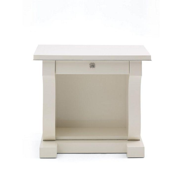 Brook Street Night Stand - Cream - Bedside Tables - Furniture - Products - Ralph Lauren Home - RalphLaurenHome.com