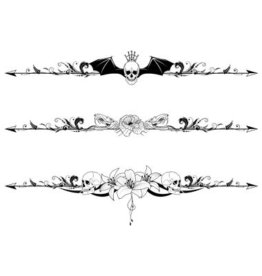Gothic Border Patterns