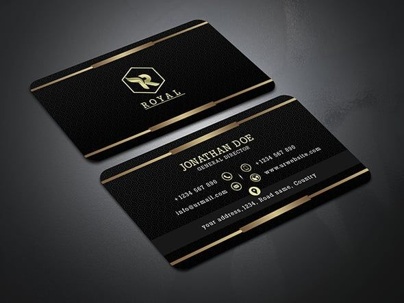 Fiverr Freelancer Will Provide Business Cards Stationery Services And Create Luxury Busi Business Card Logo Design Luxury Business Cards Business Card Design
