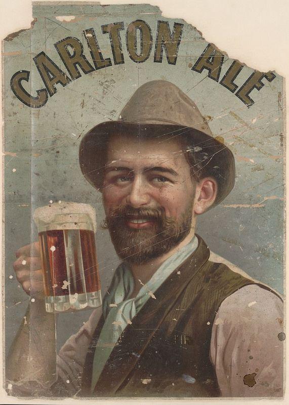 Carlton Ale poster