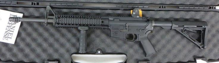 Used Daniel Defense M4 AR-15 5.56/.226 w/ case $1175 - http://www.gungrove.com/used-daniel-defense-m4-ar-15-5-56-226-w-case-1175/