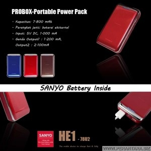 Jual Probox PowerBank Garansi 1 Tahun