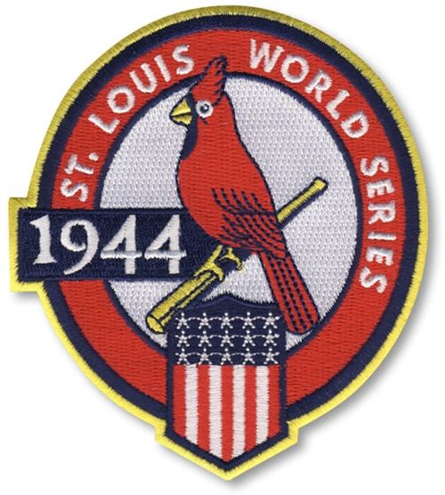 1944 St. Louis Cardinals World Series MLB Baseball Patch Cooperstown Collection