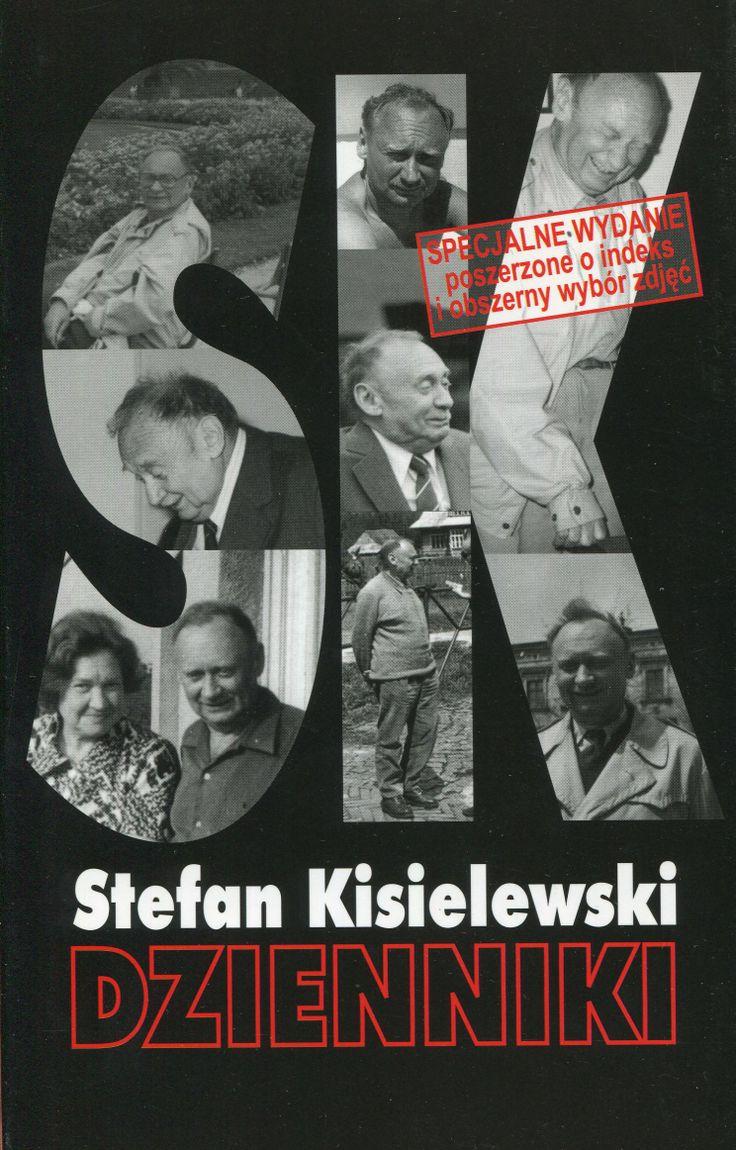 """""""Dzienniki"""" Stefan Kisielewski   Cover by Krystyna Töpfer Published by Wydawnictwo Iskry 2001"""
