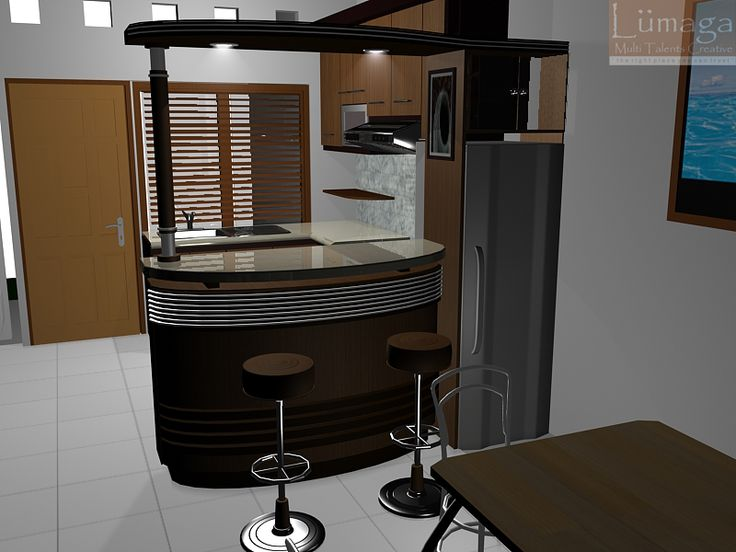 Mini Bar Counter Design For Home