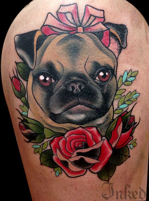 Popular Tattoos Army Adorable Dog - 312f5cb374976d77cadc02234d3bea96--pug-tattoo-tattoo-shop  Photograph_495969  .jpg