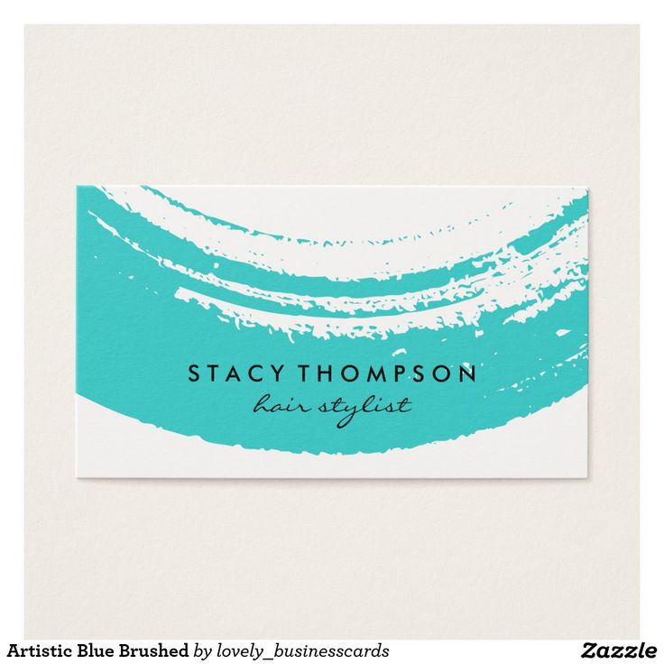Artistic Blue Brushed Business Card #fashionblogger #interiordesigner #calligraphy #hairstylist #makeupartist #hairdresser #esthetician #cosmetologist #blue #bluebrushed #artistic #fashionista #brushed #modernart #paintbrush #creativedirector #decorator #fashionstylist #consultant #chic #salongroomer #hairdresser #entrepreneur #owner #modern #inkbrush #organic #creative #paint #artgallery #finearts #graphicdesigner #abstract #contemporary #brushstroke #blueink