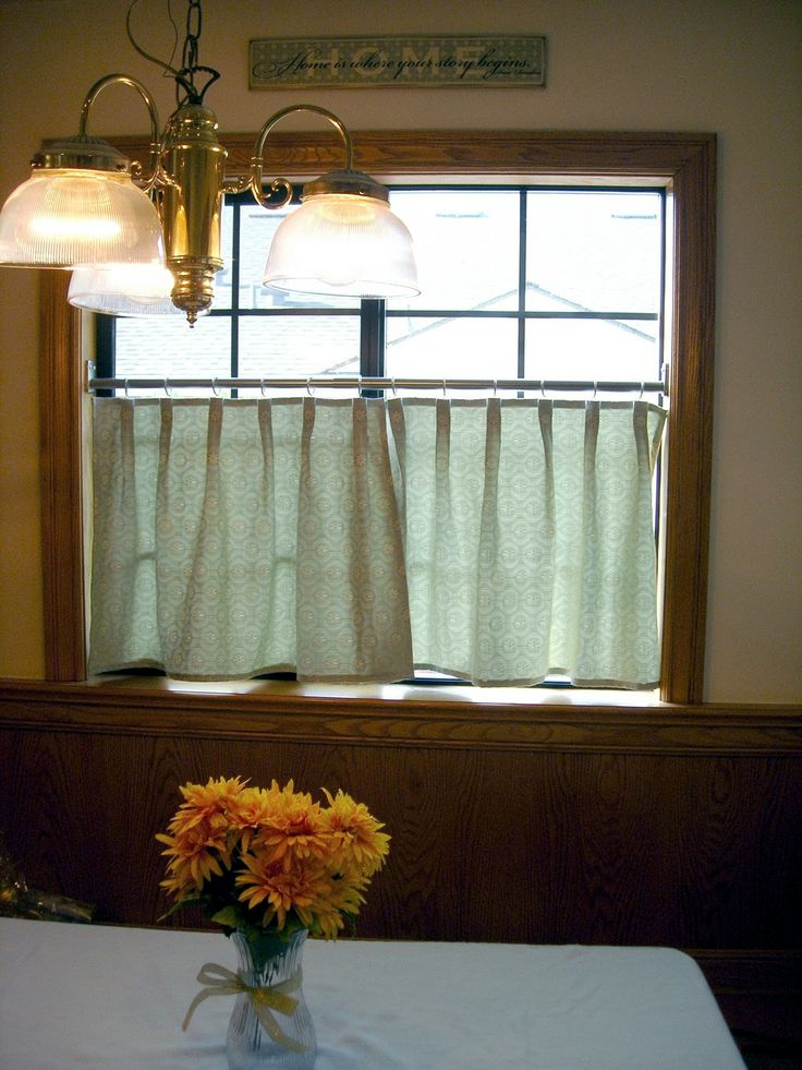 Tutorial On Making Pleated Cafe Curtains